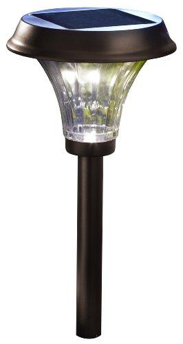 Moonrays 91754 Richmond Solar Metal Path, 360-degree display and 120-degree beam angle of warm LED,...