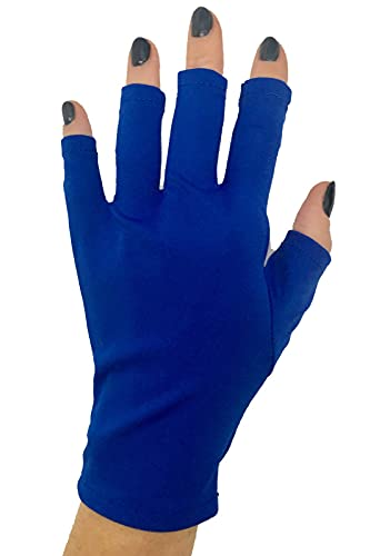 ManiGlovz Anti-UV and Sunblock Protection Shield Driving Gloves Also for Gel Nail Manicure UV and...