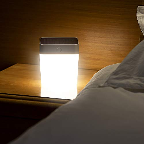LUTEC Table Cube Light 100 Lumen 1 Watt 3 LED Simple Touch-Button Operation 3 Step Dimmer Portable &...