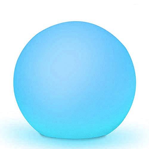 Obell 30CM LED Solar Ball Light 10 Colors Floating Pool Light Outdoor Waterproof Globe Light Garden...