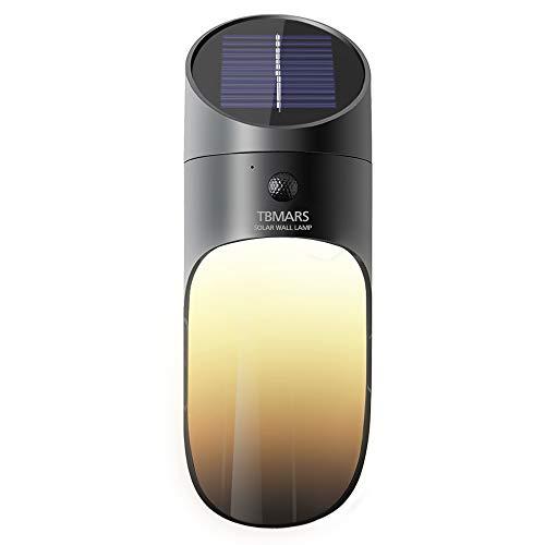 Solar Lights Outdoor, TBMARS Motion Sensor Solar LED Outdoor Wall Light, Wireless IP65 Waterproof...