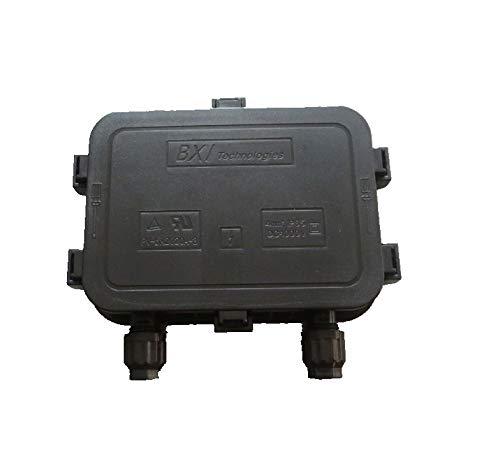 Bellttt 210W - 250W Solar Junction Box Waterproof IP65 for Solar Panel Connect PV Junction Box Solar...
