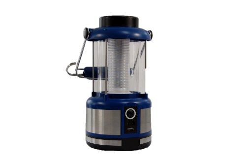 World Green Products Solar Powered Rechargeable LED Camping and Emergency Lantern 300lm Bright with...