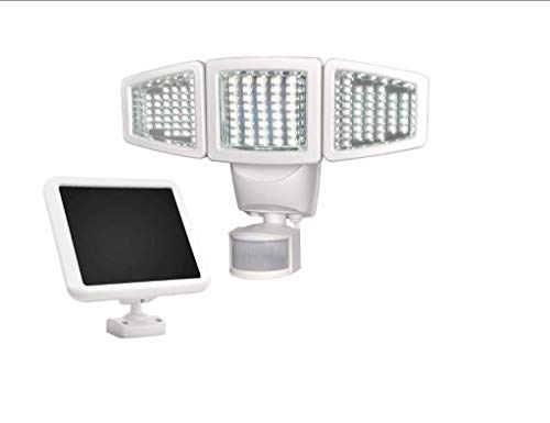 Sunforce 82123 120-LED Triple Head Solar Motion Light, 1000 Lumen Super Bright, 30 Detection...