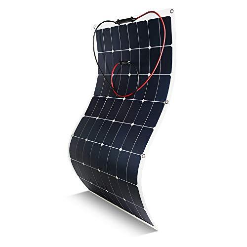 Kingsolar Flexible Solar Panel 100 Watt 18 Volt 12 Volt, ETFE Surface Not PET Surface(Most of...