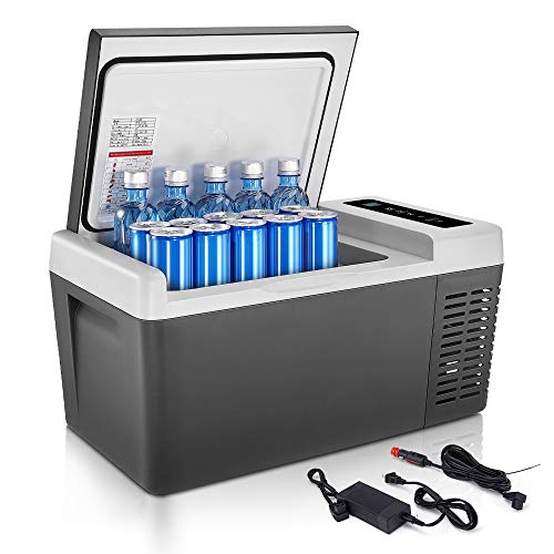 F40C4TMP Portable Refrigerator Car Fridge(-7.6℉~131℉) Freezer Warmer,20 Quart Mini Fridge 18L...