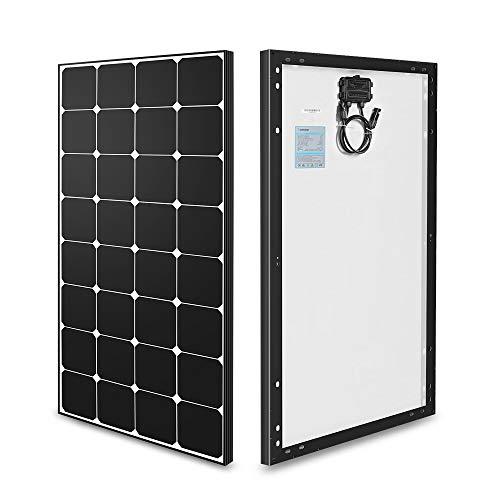 Renogy 100 Watt 12 Volt Eclipse Monocrystalline Solar Panel High Efficiency Module Off Grid PV Power...