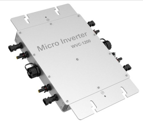 KD WVC 1200W IP65 Waterproof Solar Grid Tie Inverter DC to AC Grid Power micro Inverter (AC110V)