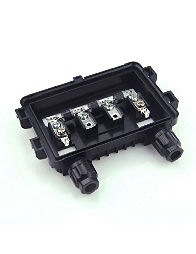 Vikocell 1Pcs Photovoltaic Solar PanelJunction Box Waterproof IP65 for Solar Panel 100W-180W