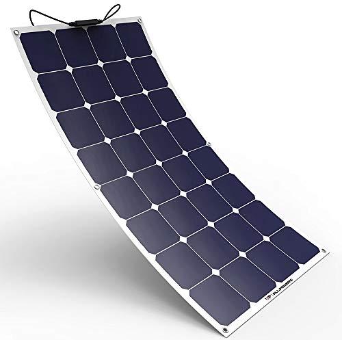 ALLPOWERS Solar Panel 100W 18V 12V Bendable Flexible Solar Charger SunPower Solar Module with MC4...