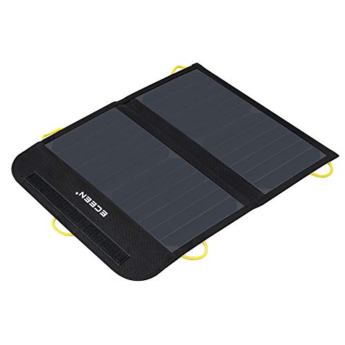 ECEEN Solar Charger Foldable Solar Panel Charge for iPhones, Smartphones, Tablets, GPS Units,...