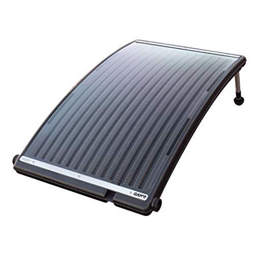 GAME 4721-BB SolarPRO Curve Solar Pool Heater, Made for Intex & Bestway Above-Ground and Inground...
