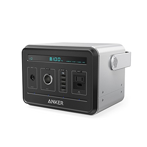 Anker Powerhouse, Compact 400Wh / 120000mAh Portable Outlet, Generator Alternative Rechargeable...