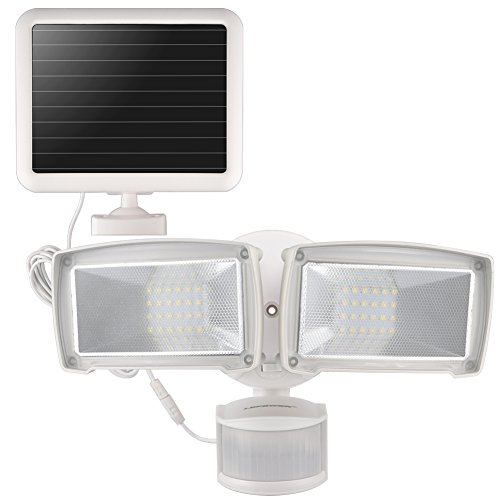 LEPOWER Solar LED Security Light, 950LM Outdoor Motion Sensor Light, 5500K, IP65 Waterproof,...