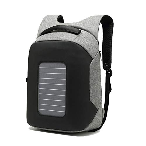 FARAZ Solar Backpack Waterproof and Anti-Theft, perfect for carrying laptop to work or school