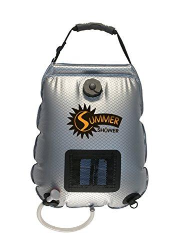 Advanced Elements 5 Gallon Summer Shower / Solar Shower,Silver/Black