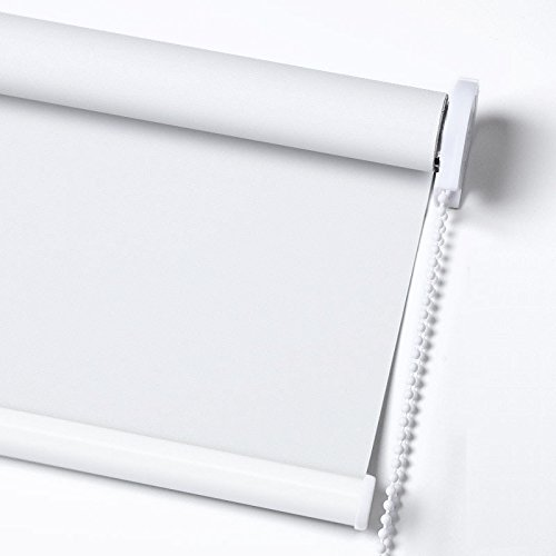 ZY Blinds Blackout Roller Shades Custom Made Any Size from 20-78inch Wide UV Protection Enery Saving...