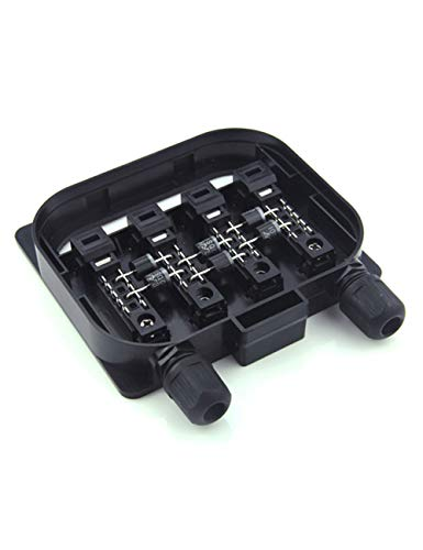 VIKOCELL 20A PV Solar Junction Box IP67 Waterproof Solar Connecting Box for Solar Panel 250W to 500W