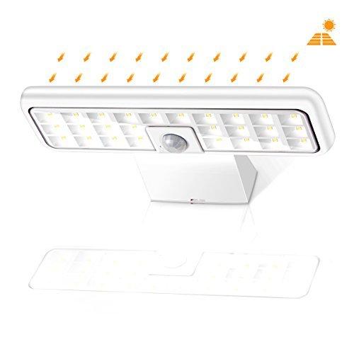 Solar Lights Outdoor, Sunix Super Bright 26 LED Solar Motion Sensor Security Lights, IP65 Waterproof...