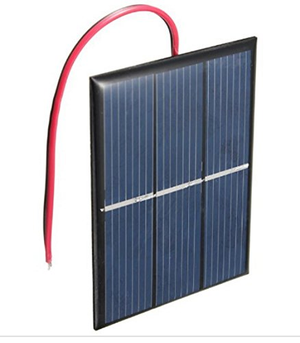 AMX3d Micro Mini Solar Cells – 1.5V 400mA Compact 80 x 60mm Solar Panels – Power Home DIY...