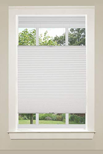 Universal Home Fashions Top Down/Bottom Up Cordless Cellular Shade, 23'x64', White
