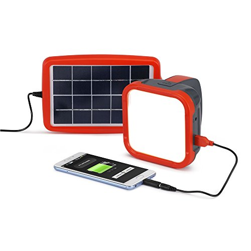 d.light S500 Portable Solar Lantern and Mobile Phone Charger for Camping