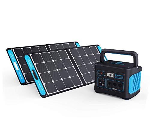 Generark Solar Generator For Homes: Portable Power Station Backup Battery & Solar Panel Power...