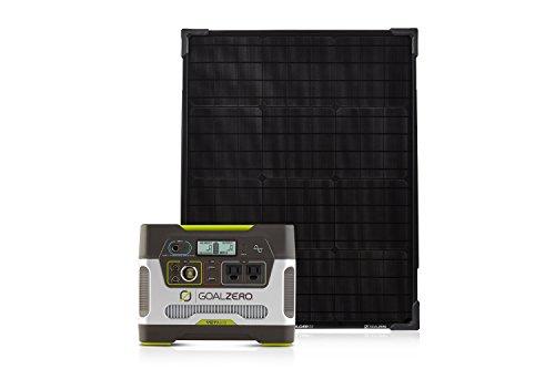 Goal Zero Yeti 400 Portable Power Station Kit with Boulder 50 Solar Panel,400Wh Battery Powered...