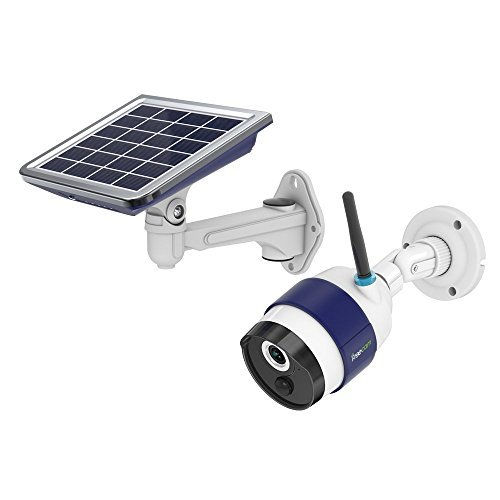 FREECAM Solar Rechargeable Battery Powered WiFi Camera,Outdoor Wireless Security Camera with...