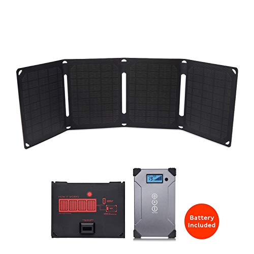 Voltaic Systems Arc 20 Watt Rapid Solar Laptop Charger, 24,000mAh   Includes a USB-C PD Battery Pack...