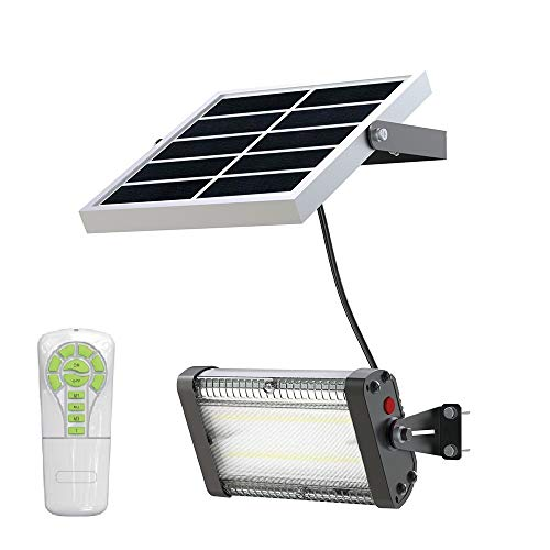Solar Barn Lights with Remote Control, Indoor/Outdoor Usage, Lithium-Ion Battery, Different Sizes...