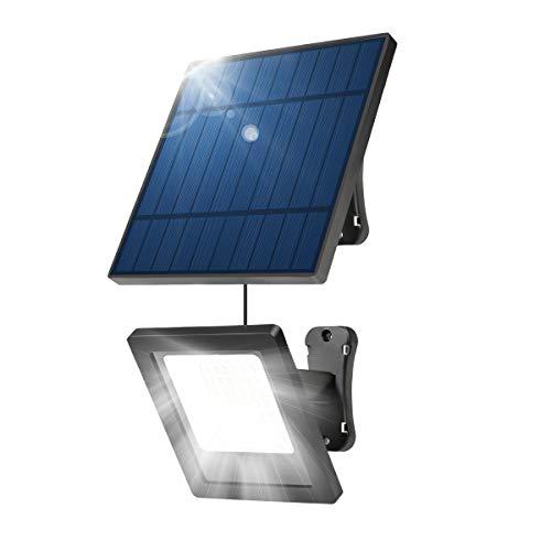 NING ZE XIN Solar Lights Outdoor,30 LED Spotlight 30-Watt Solar Light 9.2ft Extension Cord Light...