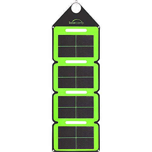 Solar Camp Ð Solympic Hue Ð Portable, Waterproof, Flexible Folding Solar Charger with CIGS Solar...