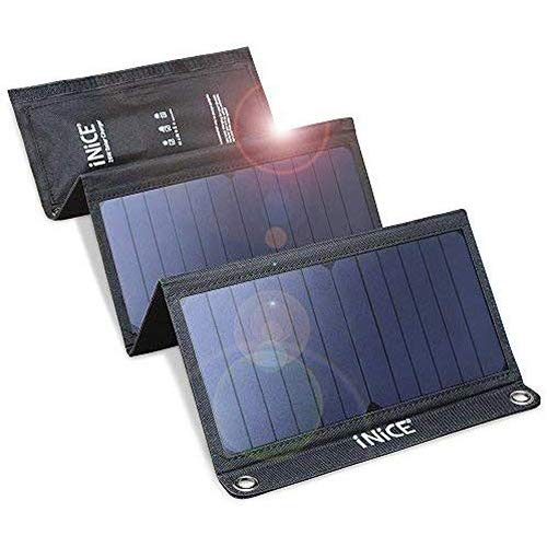 Solar Charger 6V 28W Portable Solar Charger for Cell Phone Dual USB Ports Waterproof Power Bank...