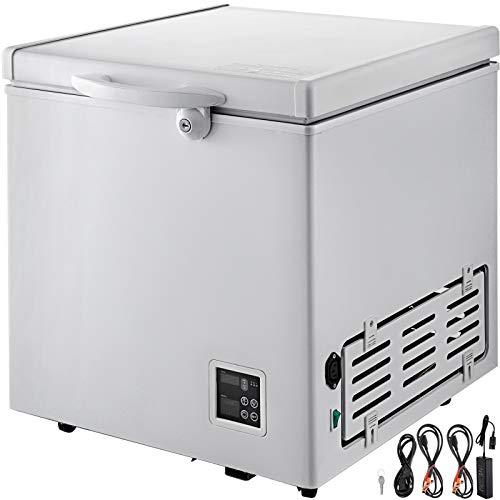VBENLEM Chest Freezer,63 Quart Commercial RV Deep Freezer,2.1 cu.ft. Compact Vehicle Electric Cooler...
