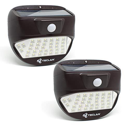Teclan Solar Lights, 38 LED Wireless Waterproof Solar Motion Sensor Light, Outdoor Security Night...