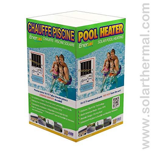 Enersol 1' x 8' Solar Pool Heater w/Hardware