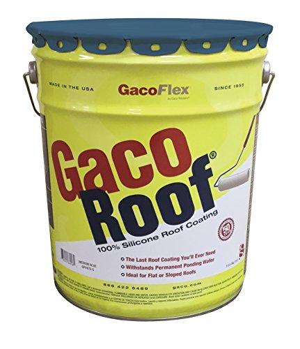 Gaco Roof 100% Silicone Roof Coating (Medium Blue)