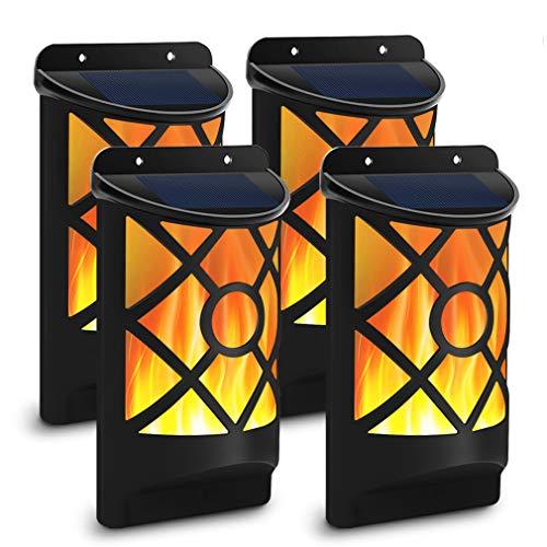 Solar Flame Lights Outdoor, Aityvert Waterproof Flickering Flame Solar Lights Dark Sensor Auto...