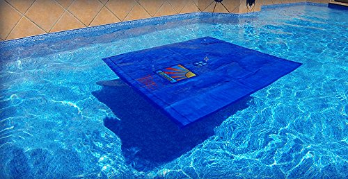 Splash-A-Round Pools Noair Heat Squares NS792-12 Solar Blanket, 54 by 54-Inch, 12-Pack