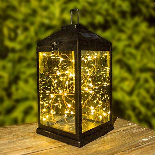 Solar Lanterns Outdoor Hanging Upgraded Waterproof Sunwind Solar Metal Decorative Table Light 2...