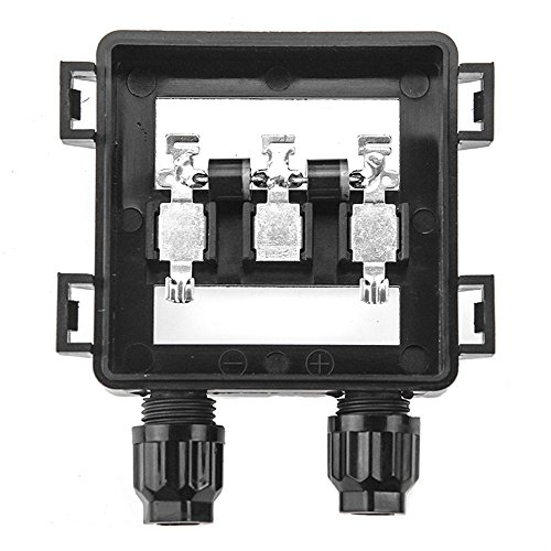 VIKOCELL Solar Junction Box Waterproof IP65 for Photovoltaic Solar Panel 50W - 100W