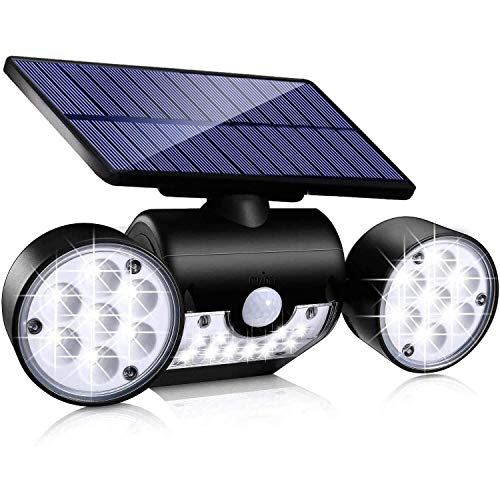 Ambaret Solar Lights Outdoor, 30 LED Motion Sensor Light Waterproof Solar Motion Lights Outdoor...
