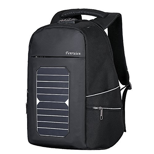 Eshow Solar Charger Laptop Backpack with USB Charging Port