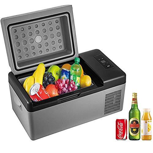 VBENLEM Portable Anti-Shake Refrigerator 21 Quart (20L)12V Fridge Freezer for Car, Vehicle, Truck,...