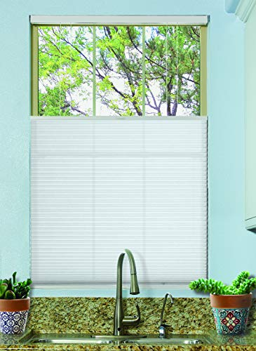 BlindsAvenue Cordless Top Down Bottom Up Cellular Honeycomb Shade, 9/16' Single Cell, Light...