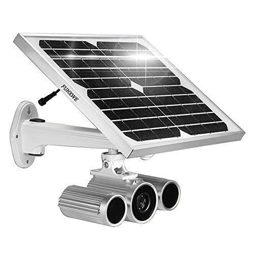 [2019 Updated] Solar Power Battery Powered 1080P WiFi Security IP Camera with Starlight Night Vision...