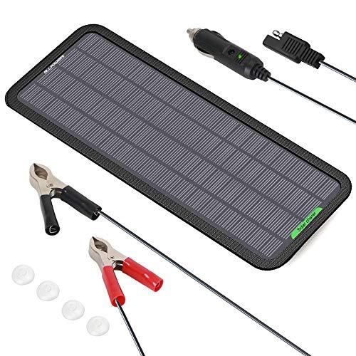 ALLPOWERS 18V 12V 5W Portable Solar Panel Car Boat Power Solar Panel Battery Charger Maintainer for...