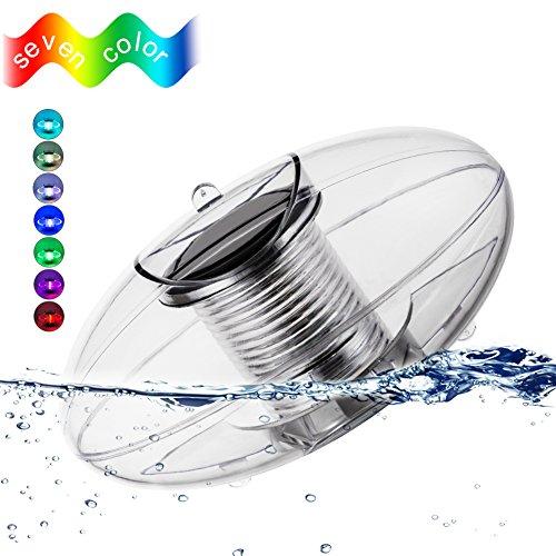 sanyi Solar Floating Light Pool Light Pond Light Outdoor Night Light Color Changing Solar Light LED...