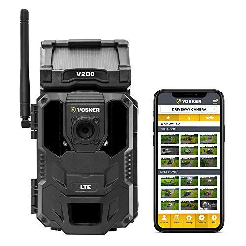 V200 4G Mobile Security Camera with Preactivated Verizon SIM Card (VSKV200V)